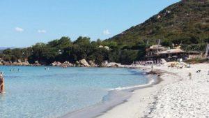 La plage d'Argent