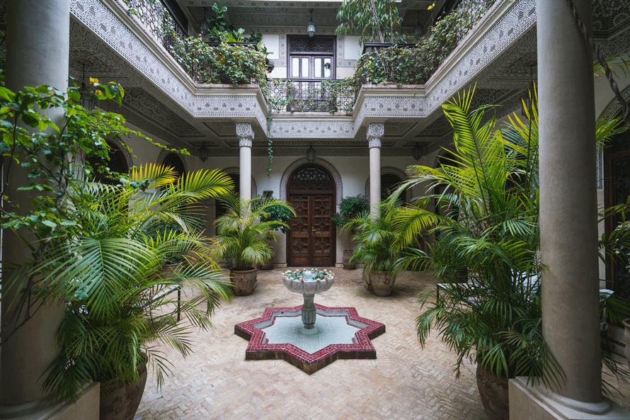 location d'une villa privée à Marrakech